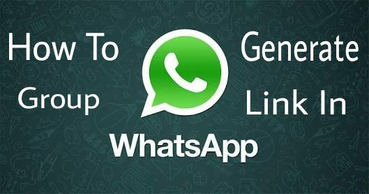 how to create group whatsapp link