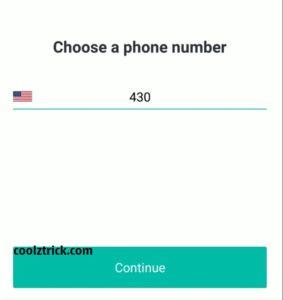 create whatsapp with U.S. number