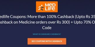 medlife cashback offer