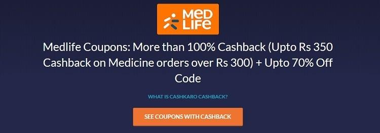 medlife cashback offer