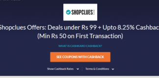 shopclues watches loot