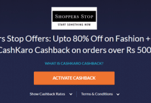 shopperstop deal