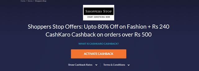 shopperstop deal