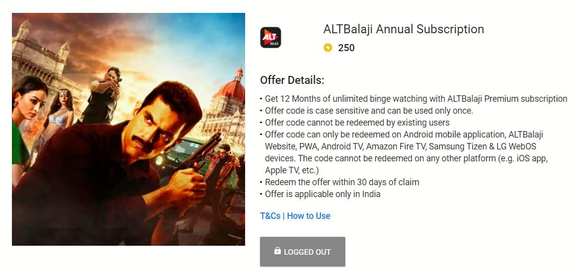 ALT Balaji Free Subscription