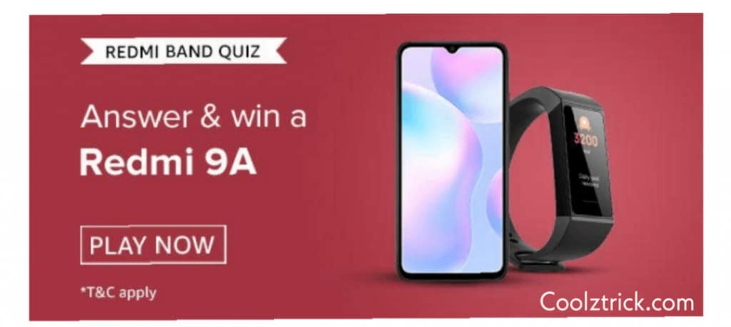 Amazon Redmi Band Quiz