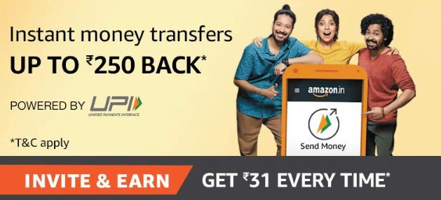 Amazon UPI Referral Code