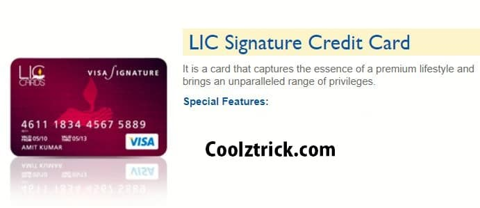 LIC Free Credit Card