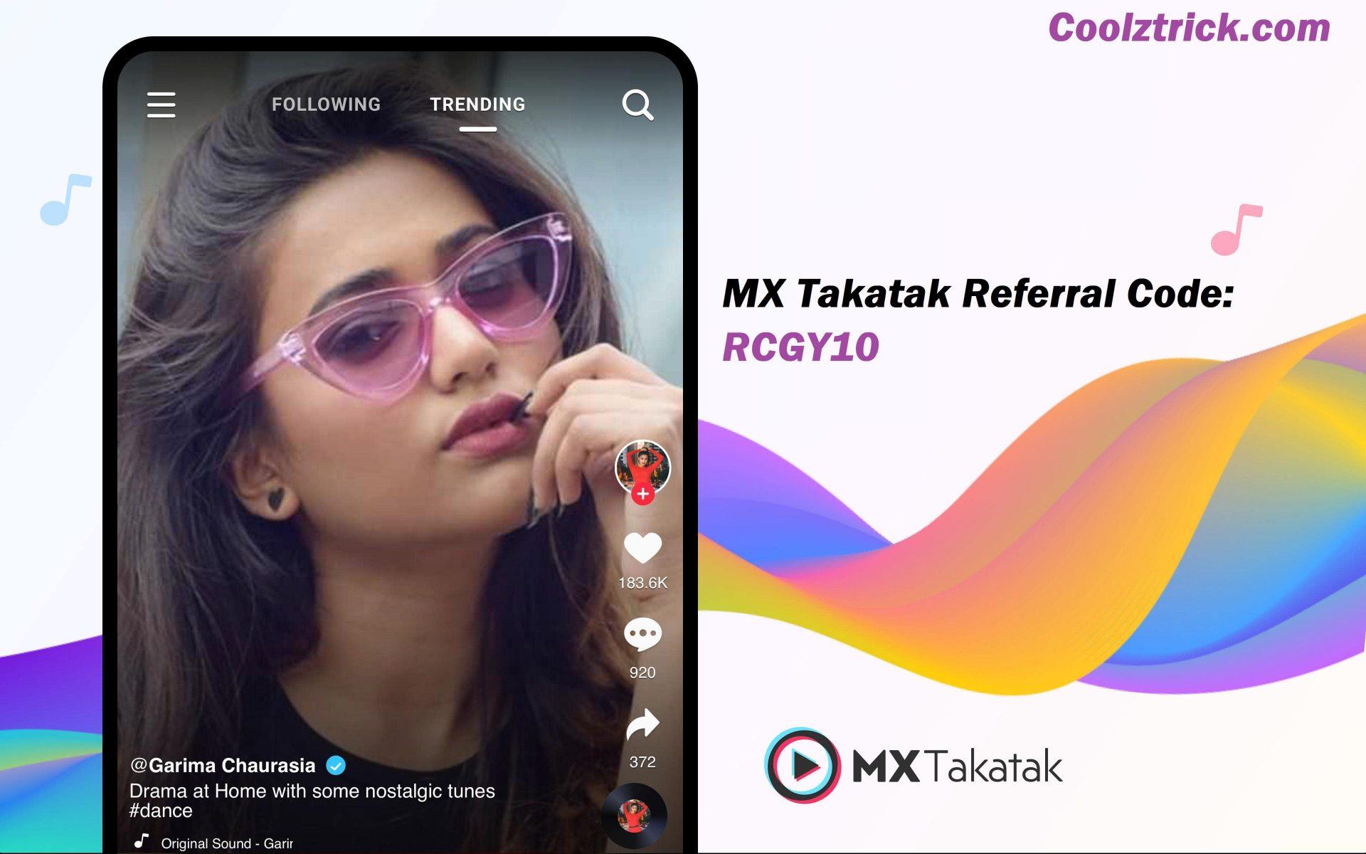 MX Takatak Referral Code