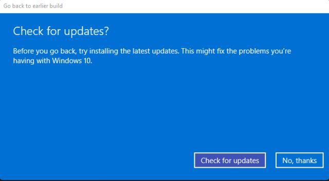 Back to Windows 10 From Windows 11