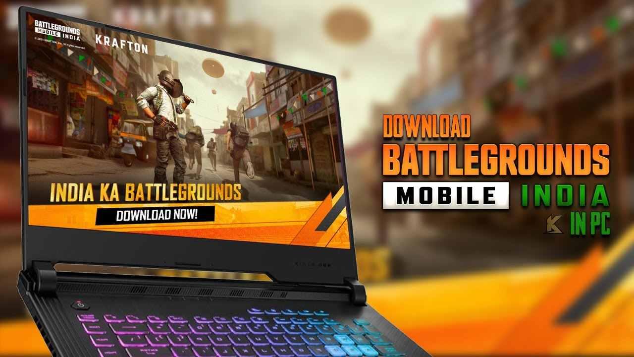 Play BGMI On PC & Laptop