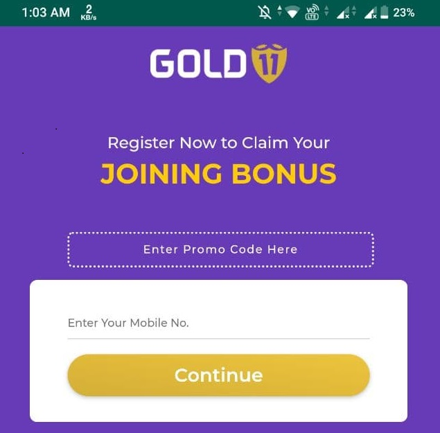 Gold11 Referral Code