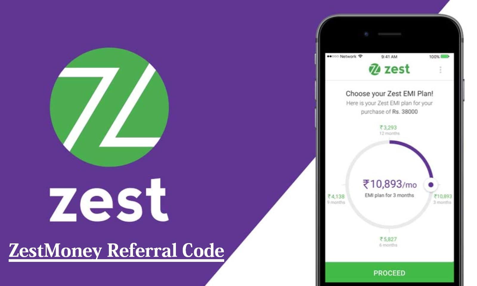 ZestMoney Referral Code